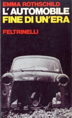 L'automobile, fine di un'era